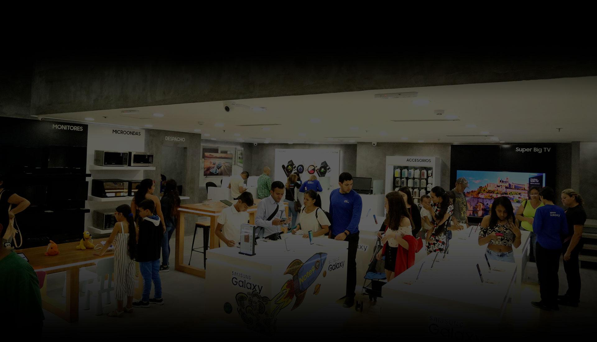 Samsung CLX Tiendas Naguanagua