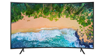 Televisor 55 UHD Curvo Smart TV 4K (2018) - CLX Latin