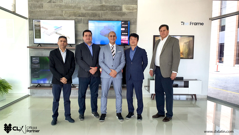 CLX recibio visita de Samsung Electronics Latinoamerica - CLX Latin